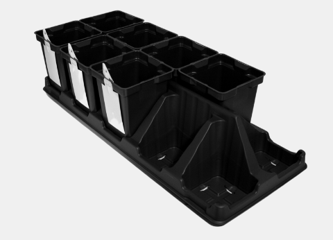 450 Pot-Tray Growing System