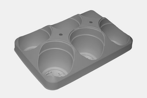755802C ROUND POT CARRY TRAYS
