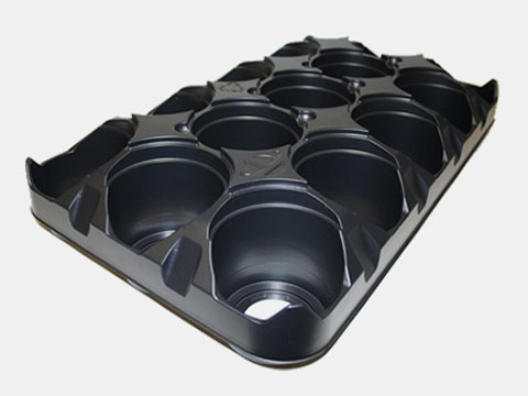 755824C ROUND POT CARRY TRAYS