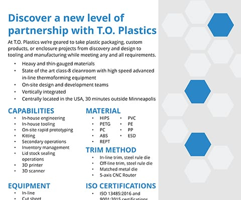 T.O. Plastics Industrial Flyer